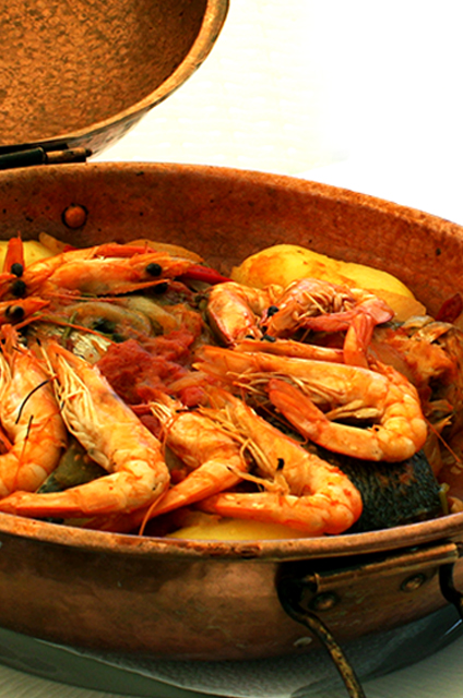 restaurante la cigale - cataplana